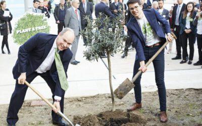 Empfang bei Fürst Albert in Monaco: PERVOMANCE fördert weltweite Baumpflanzaktion